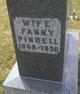 Fanny Beersheba <I>Pindell</I> Abbott