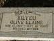 Olive Elaine <I>Cave</I> Bilyeu