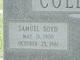 Samuel Boyd Collins, Sr
