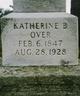 Profile photo:  Katherine B Over