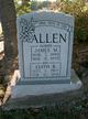 Profile photo:  Edith Virginia <I>Barus</I> Allen