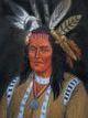 """Profile photo:  Chief """"Hokolewskwa"""" Cornstalk"""