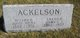 James T Ackelson
