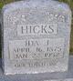 Ida Jane <I>Williams</I> Hicks