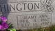 Deamy Ann <I>Clements</I> Wethington
