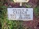 Profile photo:  Andrew M. Creech