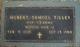 Pvt Hubert Samuel Tilley Sr.