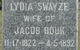 Lydia <I>Swayze</I> Bouk