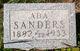 Profile photo:  Ada Sanders