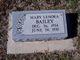 Mary Lenora Bailey