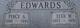 Elva May <I>Westbrook</I> Edwards