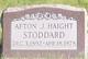 Profile photo:  Afton Josephine <I>Haight</I> Stoddard