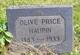 Olive Price Haupin