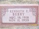 Kenneth E Berry