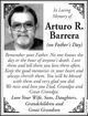 Profile photo:  Arturo R. Barrera