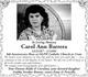 Profile photo:  Carol Ann Barrera