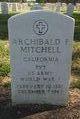 Archibald Fraser Mitchell