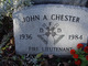 John A Chester