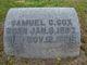 "Samuel Crittington ""Sam"" Cox"