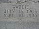 Flossie Mae <I>Anderson</I> Anders