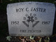 Roy C Easter