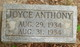 Joyce Anthony