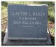 Clayton L Baker