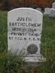 Judson (Jutson/Justin) Bartholomew
