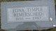 Profile photo:  Edna <I>Temple</I> Remerscheid