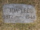 Profile photo:  Ida Lee