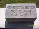 Profile photo:  Henrietta <I>Dickman</I> Beyer