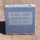 Bobby Lewis Browning