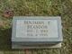 Profile photo:  Benjamin Franklin Brandon