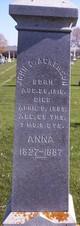 "Sarah Ann ""Anna"" <I>Dickinson</I> Ackerson"