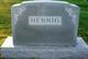 Anna Bertha Louisa <I>Rathke</I> Hennig
