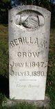"Profile photo:  Berilla K ""Sallie"" <I>Phillips Cockrell</I> Crow"