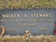 Walker A. Stewart