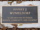 Harry J. Womeldorf