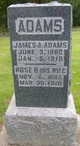Profile photo:  James A. Adams