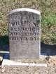 Wilbur W Alspaugh