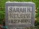 Sarah Strong <I>Horton</I> Nelson