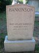 Mary Adelaide <I>Bushnell</I> Hankinson