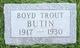 Boyd Trout Butin