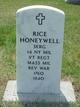 Profile photo:  Rice Honeywell