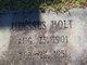 Ulysses Holt