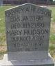 Mary <I>Cook</I> Hudson
