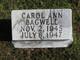 Carol Ann Bagwell