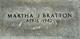 Martha Josephine <I>Cotton</I> Bratton