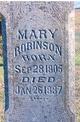 Mary <I>Calhoon</I> Robinson