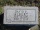 David P. Albert
